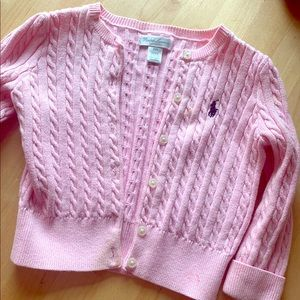 Ralph Lauren Toddler POLO Sweater 24 Mos